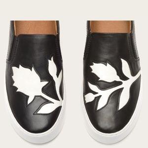 NEW! Frye Lena Floral Slip On Shoes